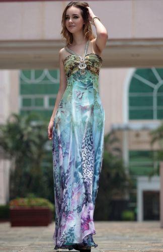 Modelos de Vestidos de Festa Estampados 7 Modelos de Vestidos de Festa Estampados