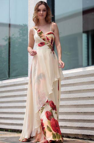 Modelos de Vestidos de Festa Estampados 8 Modelos de Vestidos de Festa Estampados