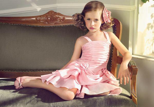 Modelos de Vestidos de Festa para Crianças 1 Modelos de Vestidos de Festa para Crianças