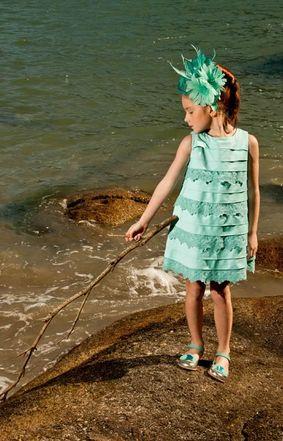 Modelos de Vestidos de Festa para Crianças 3 Modelos de Vestidos de Festa para Crianças