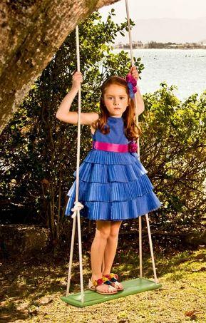 Modelos de Vestidos de Festa para Crianças 4 Modelos de Vestidos de Festa para Crianças