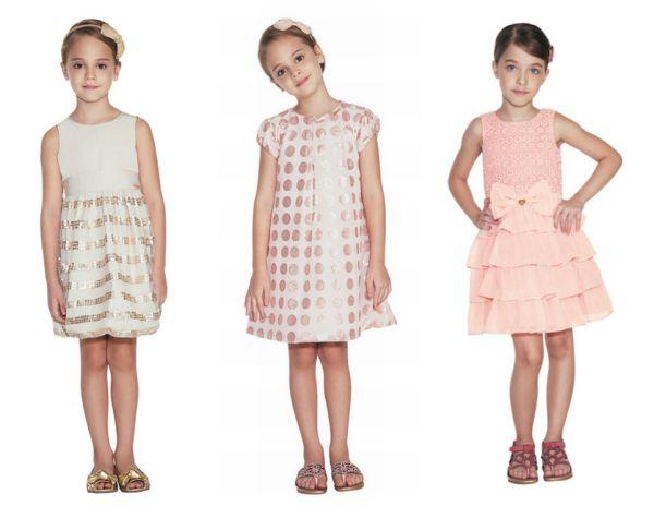 Modelos de Vestidos de Festa para Crianças 5 Modelos de Vestidos de Festa para Crianças