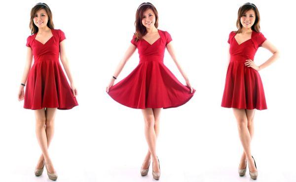 O vestido godê moda 2013 pode ser um trunfo quando você quiser diferenciar o seu visual (Foto: Divulgação)