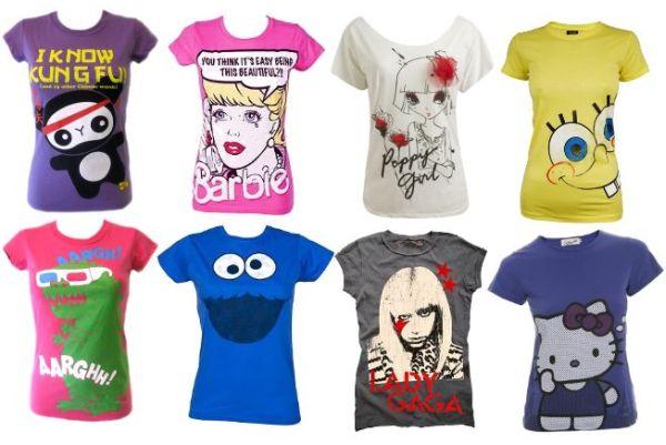 Há vários modelos de blusas divertidas você pode escolher o mais condizente com seu momento (Foto: Divulgação)