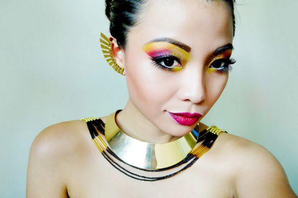 Capriche na maquiagem para festa a fantasia e deixe sua fantasia ainda mais interessante (Foto: Divulgação)