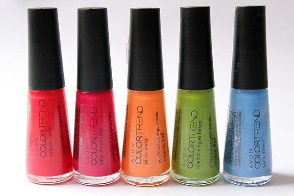 O esmalte Avon Color Trend Verão 2013 traz consigo a alta qualidade Avon aliada a preços acessíveis, o que encanta qualquer apaixonada por esmaltes (Foto: Divulgação)