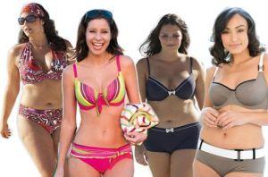 Modelos de Biquínis Plus Size 2013
