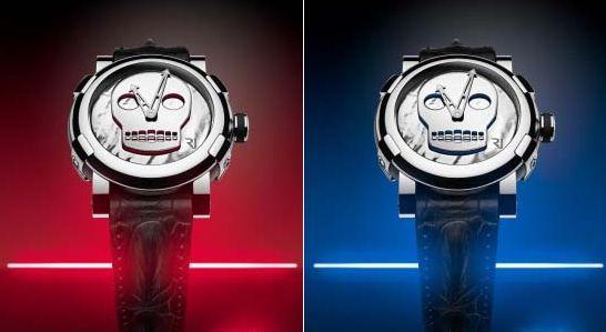 Os relógios de caveira prometem ser o grande hit do verão 2013 (Foto: Divulgação)
