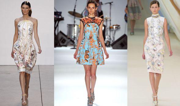 Os vestidos curtos estampados deixarão seu visual muito mais fresh neste verão (Foto: Divulgação)