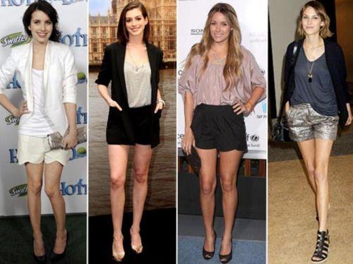 Usar short de noite sem ficar vulgar é um trunfo que as mulheres devem saber manejar (Foto: Divulgação)