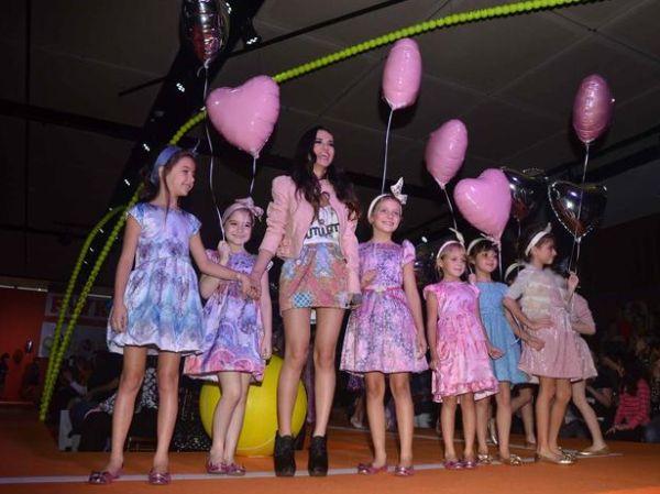 O Fashion Weekend Kids inverno 2013 trouxe o que há de mais atual no segmento infantil (Foto: Divulgação)