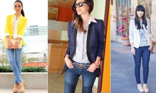 Você deve seguir algumas regrinhas para no momento de adotar o jeans para trabalhar (Foto: Divulgação)