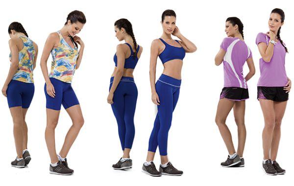 Os looks fitness com estilo deixarão sua rotina esportiva muito mais charmosa e feminina (Foto: Divulgação)
