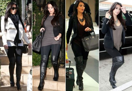 Todos os tipos físicos podem usar bota com legging, basta escolher os modelos mais indicados para seu biótipo (Foto: Divulgação)
