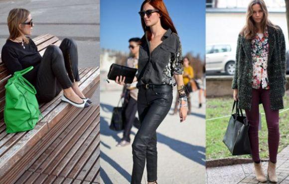 A moda de calça encerada é ótima opção para quem quer o visual do couro, porém está com o orçamento apertado (Foto: Divulgação)
