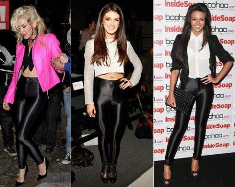 As calças disco pants estão virando hit entre as fashionistas mais antenadas com a moda (Foto: Divulgação)