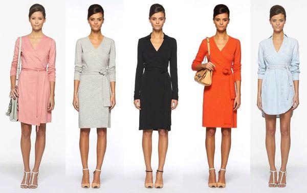 Há modelos de vestidos transpassados 2013 para todos os tipos físicos e personalidades (Foto: Divulgação)