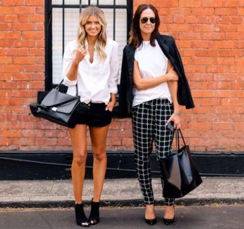 Usar o preto e branco de forma diferente na moda verão 2014 é mais fácil do que você imagina (Foto: Divulgação)