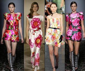 As tendências de moda para o verão 2014 indicam usar muita estampa floral, em todas as peças (Foto: Divulgação)