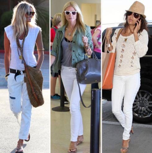 A tendência de jeans branco é forte e perfeita para o clima quente e os dias ensolarados do nosso verão brasileiro (Foto: Divulgação)