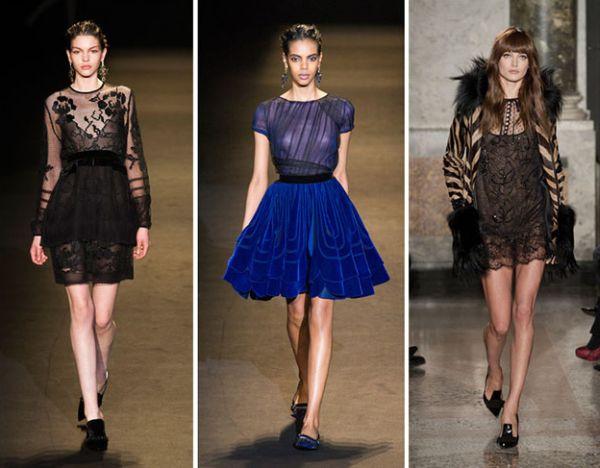 A transparência na moda inverno 2014 vem firme e forte (Foto: Divulgação)