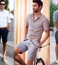 Os homens estão podendo trabalhar com bermudas atualmente e a moda masculina oferece modelos bem especiais para este caso (Foto: Divulgação)