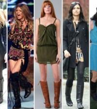 Para combinar mais facilmente cada tipo de bota na moda 2014 basta coordená-las com peças de roupas mais condizentes com a bota escolhida (Foto: Divulgação)