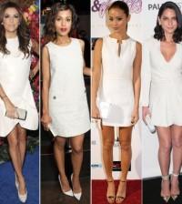 Os vestidos brancos para festa estão hit nesta temporada fashion (Foto: Divulgação)