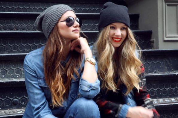 Usar gorros com estilo é mais fácil do que você imagina (Foto: thebestfashionblog.com)