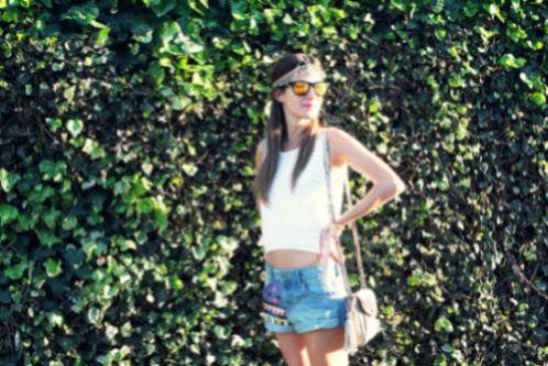 A tendência de moda do jeans com patches virá forte para o nosso próximo verão (Foto: i-love-fashion-and-boys.blogspot.com)