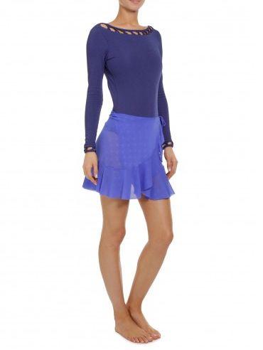 A tendência de moda da saia pareô está bem forte e deixa o visual mais feminino (Foto: shop2gether.com.br) 169,00