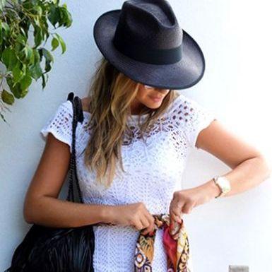 Peças de Tricô e Crochê na Moda 2015