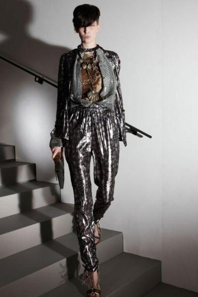 Atualmente os pijamas que podem ser usados no dia a dia estão mais sofisticados (Foto: style.com)