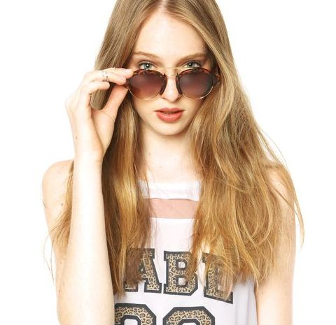 A tendência de moda dos óculos de sol geométricos promete ficar um bom tempo entre nós (Foto: dafiti.com.br) 89,90