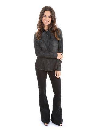 (Foto: cea.com.br) Camisa jeans 89,00
