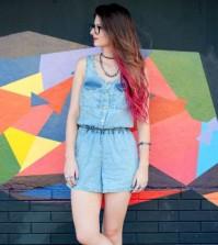 Moda de Macaquinhos Jeans 2016