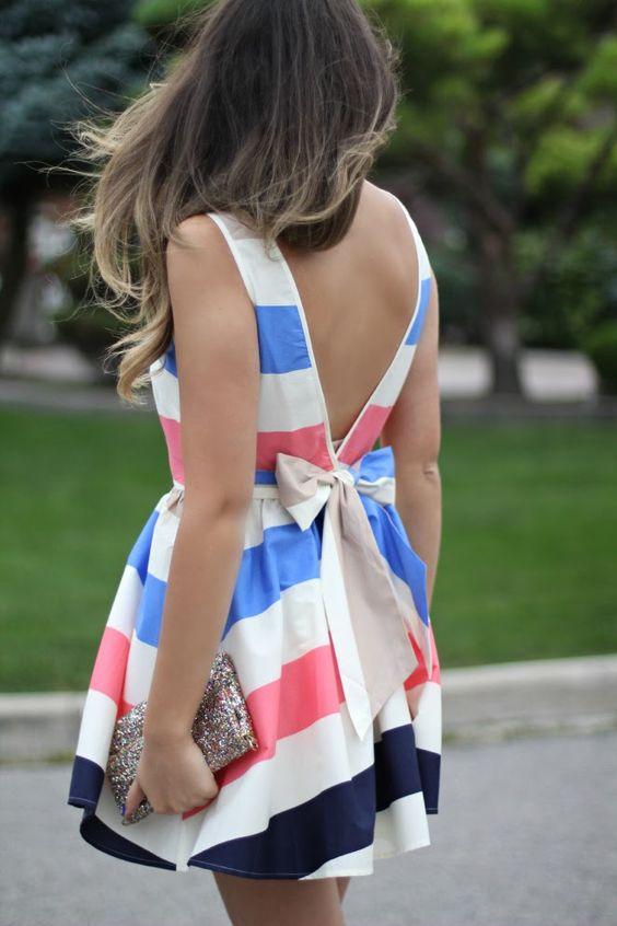 Vestidos Listrados