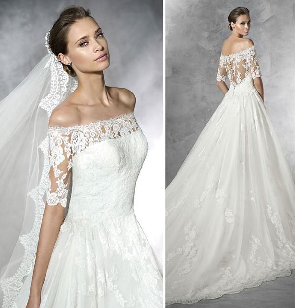 vestidos de noiva estilo princesa 2017