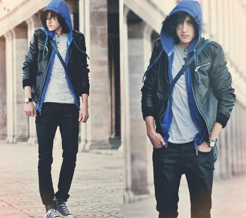 roupas masculinas para magros