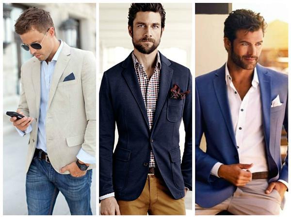 moda masculina social com calça jeans