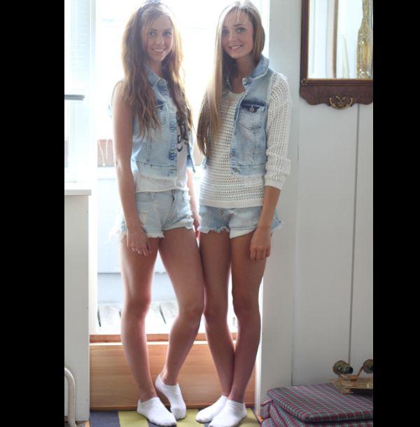 look com colete jeans