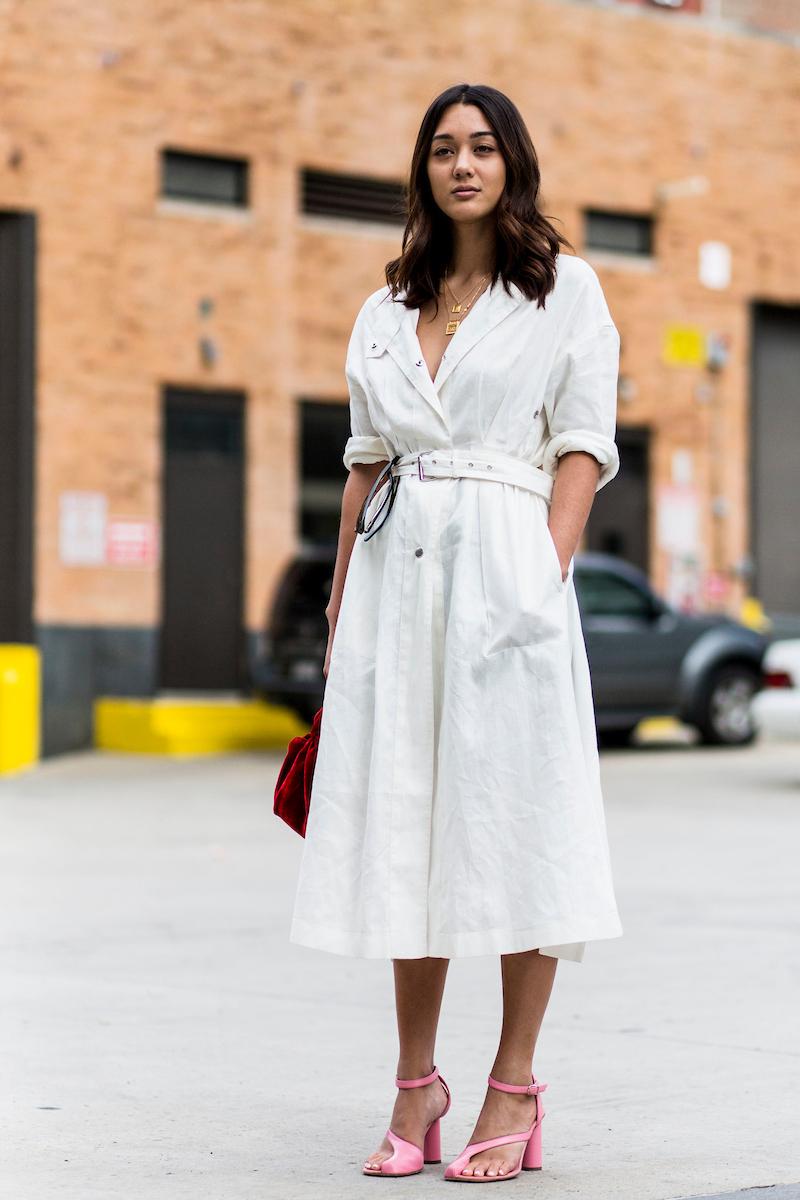 vestido branco 2018