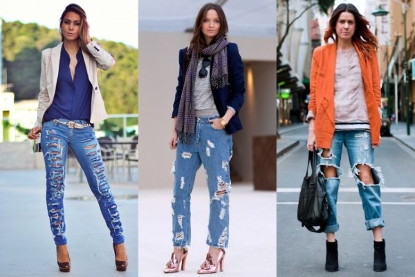 looks com calças jeans