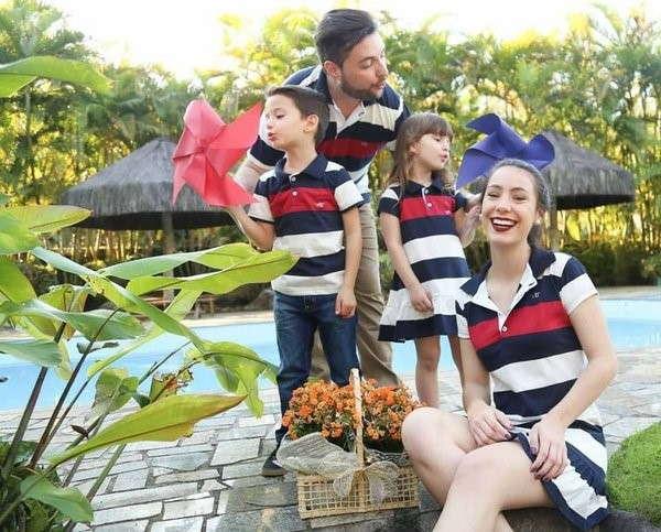 moda pais e filhos