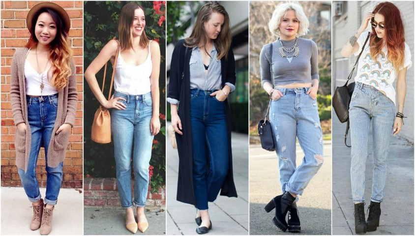 mom jeans tendencia