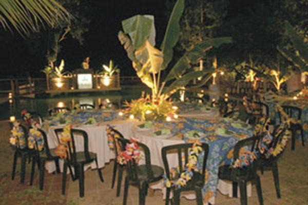 FESTA HAVAIANA, DICAS DE ROUPAS -> Decoração De Festa Havaiana Simples