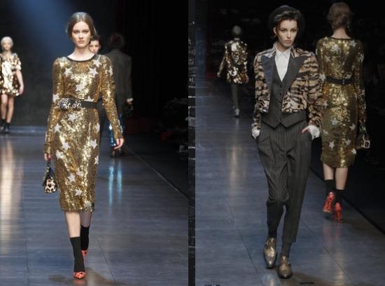 99814acf3e5e1 Tendência Inverno 2012 Dolce   Gabbana. Tendência inverno 2012 Dolce    Gabbana – A grife italiana ...