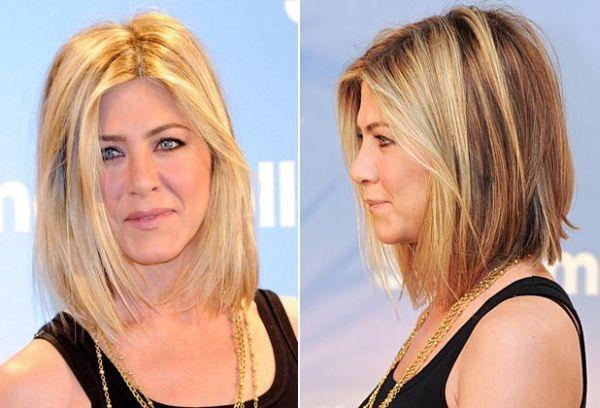 230bb100787b7 Passo a passo novo corte de cabelo de jennifer aniston jpg 600x408 Jennifer  aniston cabelo curto