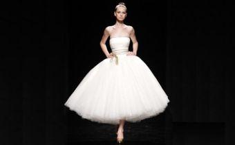 Modelos de Vestidos de Noiva Estilo Bailarina