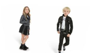 Coleção de Inverno da Versace Kids